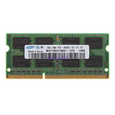 Samsung 4GB PC3-8500 DDR3-1066 1066MHZ 204PIN SODIMM Laptop Memory Notebook RAM