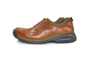Cole Haan Loafers Air Brown Black Leather Slip On Venetian Walking Mens 9 C0639