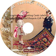 24,000 Images of Vintage Ads - ArtCraft Prints{ Clip Art Graphics }  on DVD