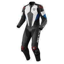 Tute in pelle e altri tessuti blu Rev'it per motociclista