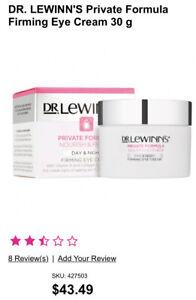 Dr Lewinns Private Formula Firming Eye Cream Rrp. $44 Sell $ 35