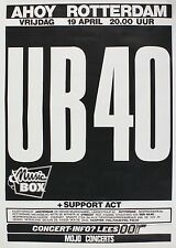 "UB40 Dutch 16"" x 12"" Photo Repro Concert Poster"