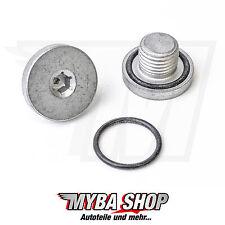 1x Ölablass-Schraube Verschluss inkl. Dichtring für Opel Fiat Saab | 96023264