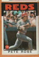 1986 Topps Baseball - #1 Pete Rose - Cincinnati Reds - nrmt/mint condition