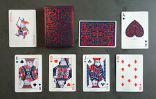 MAILCHIMP RED DECK OF PLAYING CARDS BY THEORY11 MAGIC TRICKS POKER GAME USPCC