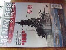 µ? revue Navires & Histoire n°89 Cuirassés Classe ISE U.864 Andrea Doria Mariott