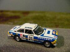 1/87 Norev Peugeot 504 Coupé Rallye du Bandama Team # 21 475461