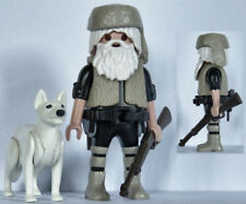 Playmobil western - trappeur - chasseur - coureur des bois - fourrure #4- custom