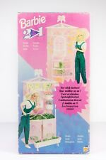 RARE BARBIE VINTAGE SET 13183 GARDEN 2 IN 1 TOY MATTEL 1995 ITALY SEALED BAG