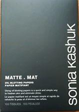 Sonia Kashuk Blotters Matt Oil Blotting Paper Matte Control Tissue 100 Sheets