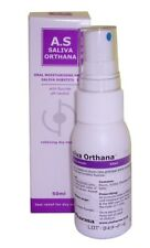 2 X A.S Saliva Orthana Lubricating Mouth Spray 50ml Relief For Dry Mouth