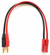 HXT 4mm to Banana plug Battery Charge 14AWG-Lead Cable Connector