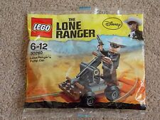 LEGO - DISNEY ( SET 30260 - LONE RANGERS PUMP CAR ) BRAND NEW