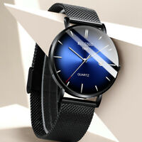 Men's Waterproof Dress Sport Date Analog Quartz Wrist Watch Business Watches B-1