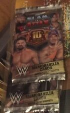 WWE Slam Attax 10th EDITION 50 Sealed Packets