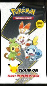 5 packs - Pokemon - 25th Anniversary-First Partner Pack Galar-PREORDER Confirmed