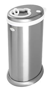 Ubbi Steel Odor Locking Nappy Disposal Bin Pail, Multiple Colors