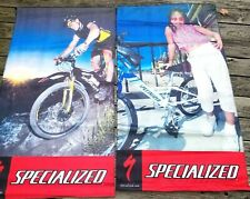 Specialized Store Banners Displays Posters Mountain Bike Kids Bikes Lot Of 2