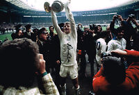 ALLAN CLARKE SIGNED 1972 FA CUP TROPHY PHOTO AUTOGRAPH COA LEEDS UNITED UTD