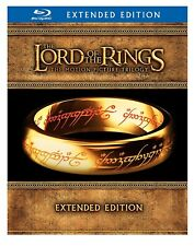 The Lord of the Rings: The Motion Picture Trilogy Extended (Blu-ray Disc, 2012