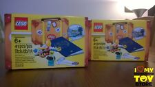 RETIRED - LEGO 5004932 EXCLUSIVE PASSPORT TRAVEL BUILDING SUITCASE (2017) - MISB