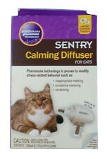 Sentry Calming Diffuser Kit for Cats 1.5 oz Lavender Chamomile Pheromone #A64