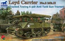 1/35 Bronco 35188 -  British  Loyd Carrier No.2 Mk.II - Tracked Towing 6-pdr gun