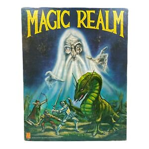 Magic Realm Fantasy Game - Avalon Hill 1979 1st Edition rules - Very Good