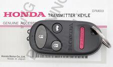 GENUINE NEW OEM HONDA 00-09 S2000 REMOTE KEY FOB CLICKER BUTTON KEYFOB