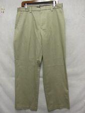 D3843 Dockers Verdoso Marrón Cool D3 Pantalones Hombre 34x29