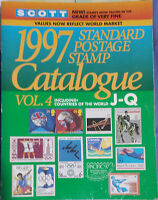 Scott 1997 Standard Postage Stamp Catalogue:Countries of the World J-Q:Vol 4 - G