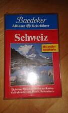 Baedekers Reiseführer Schweiz Baedeker 1995 Allianz ohne Karte!