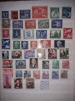 Germany East, GDR/DDR Selection Early Years, 1949-1955, MNH. Free UK P&P.
