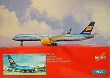 "Herpa 531108 Icelandair Boeing 757-200 ""80 Years of Aviation"" - Tf-fir"