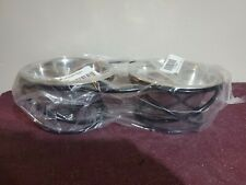 New listing Double Bowl Dog Cat Feeder Elevated Raised Stand Feeding Food Water Pet Dish Tra