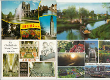Lot 4 cartes postales SOMME AMIENS 1