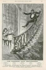 1891-antica stampa Pubblicità Brookes Sapone Pulizia (283)