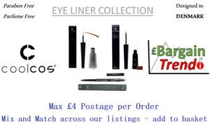 Cool Cos Denmark Paraben Parfum Free Cosmetics EYELINER Collection #BargainTrend