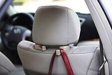 2pcs Universal Car Headrest Luggage Bag Holder, Hanger And Hook