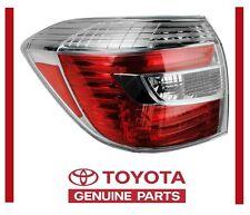 2008 - 2010 TOYOTA HIGHLANDER HYBRID TAIL LAMP LIGHT LEFT DRIVER SIDE