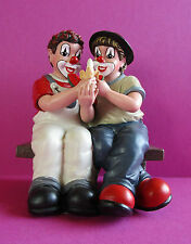 Gilde Clown Zwei (2) süße Früchtchen in OVP Art. 35263 Neu Geschenk