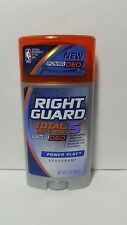 Right Guard Power Play Deodorant Total Defense 5 Power Deo 3oz 4 Pack