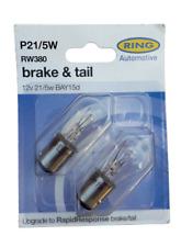 RING RW380 P21/5W 380 Brake & Tail Bulbs 2 Pack