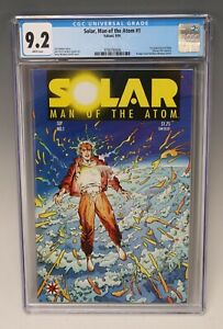 Solar: Man of the Atom #1 CGC 9.2 (Valiant, 1991)