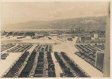 Occupied Japan 1946, trucks  US Army 229TH ORDNANCE Photo