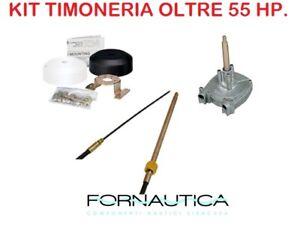 KIT TIMONERIA ULTRAFLEX T71 CON MONOCAVO M66 E COPRIMOZZO X34 - FUORIBORDO >55HP