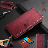 For LG K51 /LG Reflect/ LG Q5 Case Flip Leather Wallet Cover RFID Blocking Cases