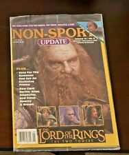 Rare New Sealed Non-Sport Update Magazine 2002/03 Lord of the Rings+Promo Cards