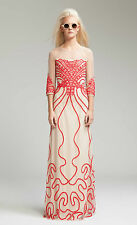 Alice Temperley London Long Ezra OYSTER MIX Evening Dress  Size UK 6 RRP £625 #8