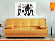 """SEVENDUST 35""""X25"""" MOSAIC WALL POSTER HEAVY METAL LAJON WITHERSPOON"""